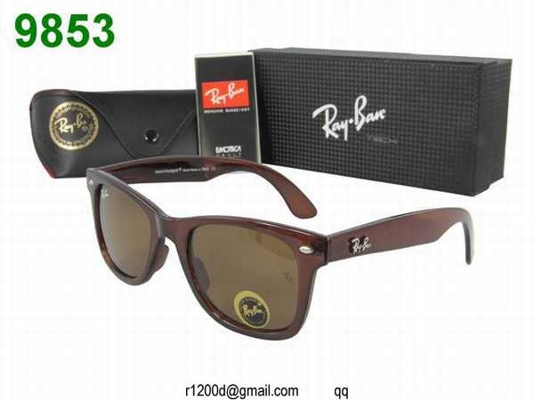 lunette ray ban moins cher